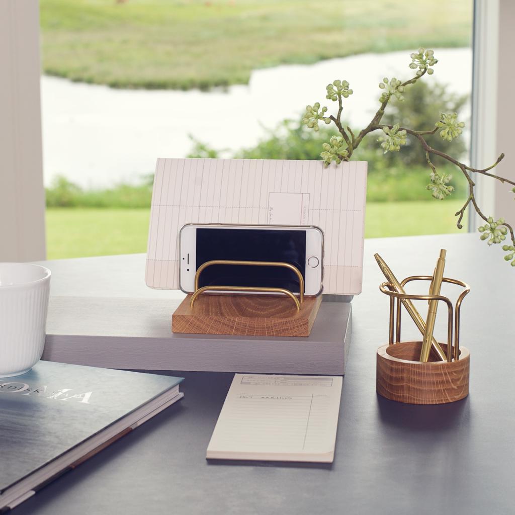 Brass-dock - pen-up - office - kontor - dot aarhus