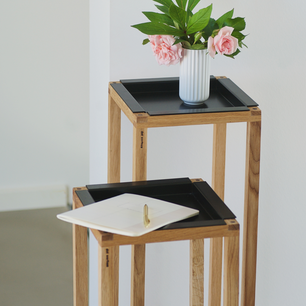 Wood up - plant holder - livingroom - dot aarhus