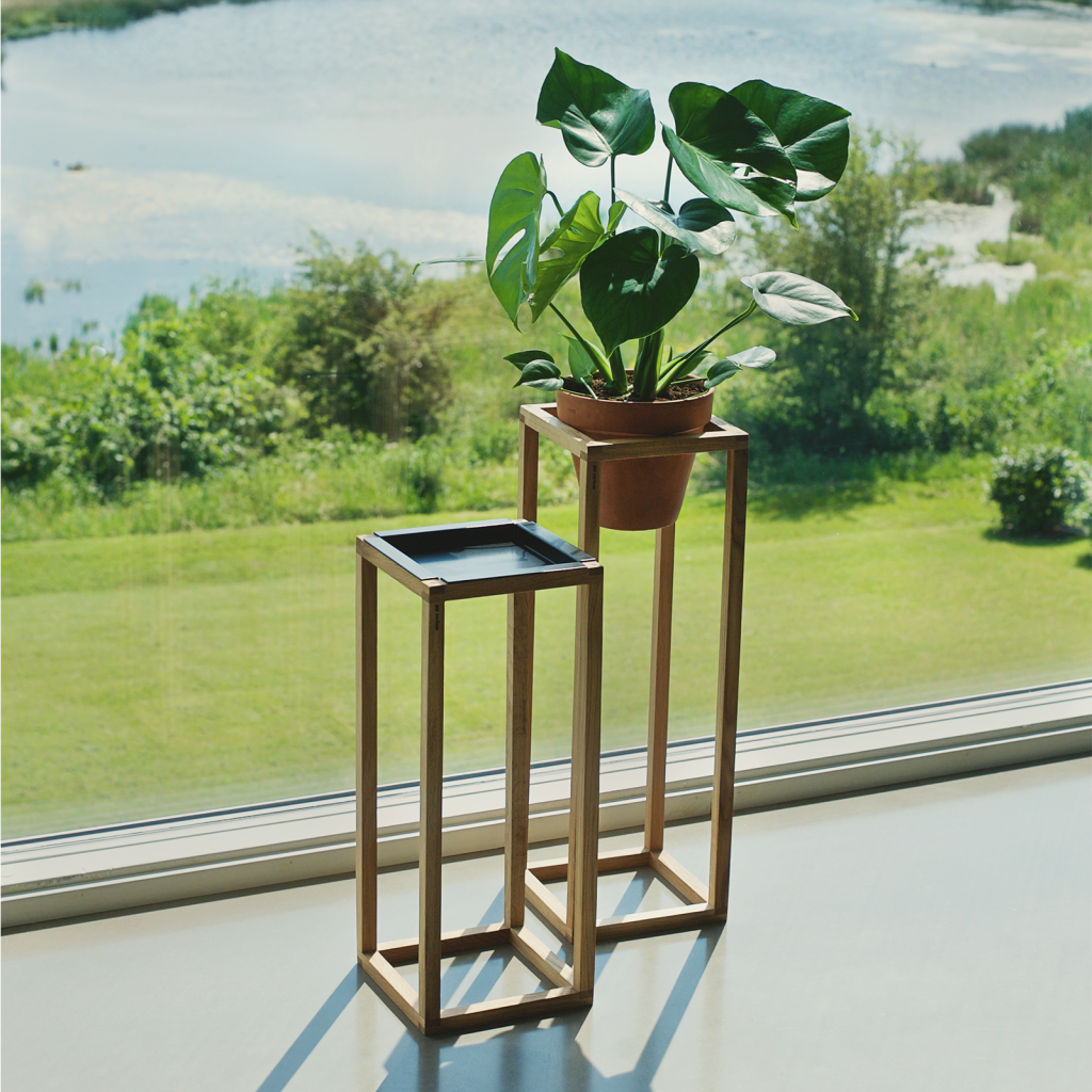 wood-up - plant - wood up tray - livingroom - dot aarhus
