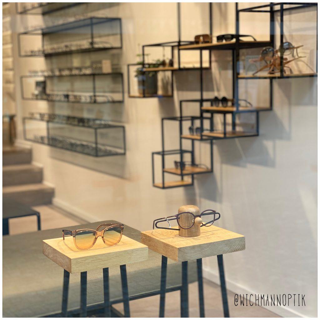 Wickmann optik - optiker - vinduesudstilling - danish design - indretning - dot aarhus - nosey